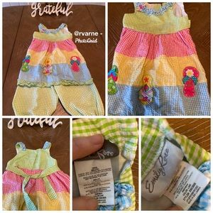 2 pc Smock Outfit
